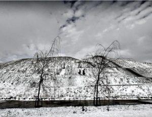 """Afbeelding van het kunstwerk """"Sneeuwbelt 1 WW Pad Zaandam"""""""