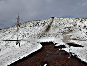 """Afbeelding van het kunstwerk """"Sneeuwbelt 2 WW Pad Zaandam"""""""