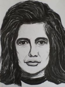"""Afbeelding van het kunstwerk """"Susan Sontag, Amerikaanse schrijfster over politiek, cultuur en filosofie 1933-2004"""""""