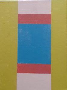 """Afbeelding van het kunstwerk """"compositie nr.009"""""""