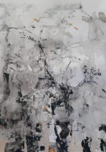 """Afbeelding van het kunstwerk """"Inner landscape 2 in wording"""""""
