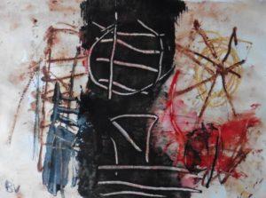 """Afbeelding van het kunstwerk """"Orfeu negro 1-21"""""""