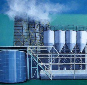 """Afbeelding van het kunstwerk """"Wolkenproducent 1"""""""