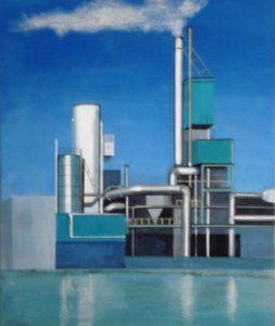 """Afbeelding van het kunstwerk """"Wolkenproducent 2"""""""