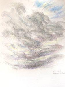 """Afbeelding van het kunstwerk """"Sneeuw op komst 2"""""""