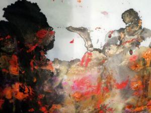 """Afbeelding van het kunstwerk """"Coming home"""""""