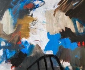 """Afbeelding van het kunstwerk """"Over water"""""""