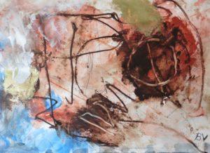 """Afbeelding van het kunstwerk """"Venetiaans plafond"""""""