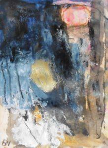 """Afbeelding van het kunstwerk """"De goudvingerige dageraad"""""""