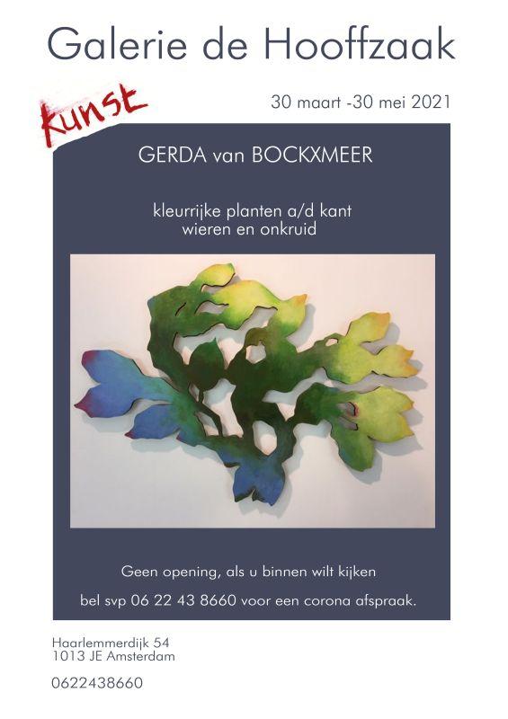 """Afbeelding poster expo """"kleurrijke planten"""""""