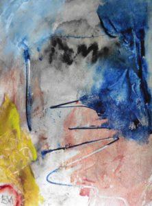"""Afbeelding van het kunstwerk """"Op het wad"""""""
