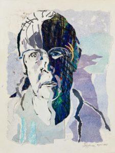 """Afbeelding van het kunstwerk """"Reflectie 1"""""""