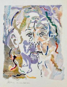 """Afbeelding van het kunstwerk """"Reflectie 2"""""""