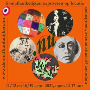 """Afbeelding poster expo """"DOAH - expositie op locatie NU"""""""