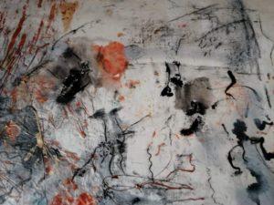 """Afbeelding van het kunstwerk """"Uit de serie mijn Zen tuin"""""""