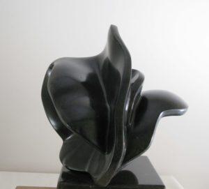 """Afbeelding van het kunstwerk """"Zwarte vlinder"""""""