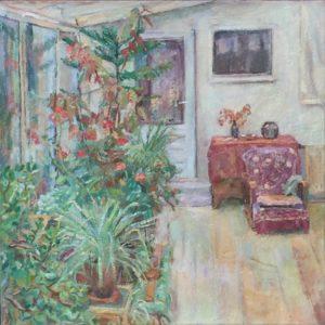 """Afbeelding van het kunstwerk """"Hortus in de Bangkokstraat"""""""