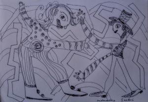 """Afbeelding van het kunstwerk """"Ontmoeting"""""""