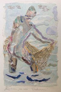 """Afbeelding van het kunstwerk """"Waterman"""""""