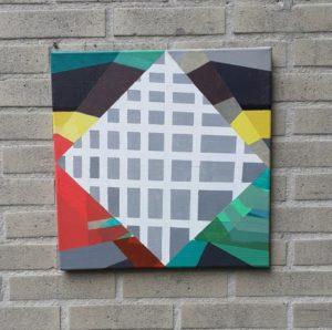 """Afbeelding van het kunstwerk """"Compositie 0123"""""""
