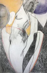"""Afbeelding van het kunstwerk """"Dansen 2 van Drieluik Dansen"""""""