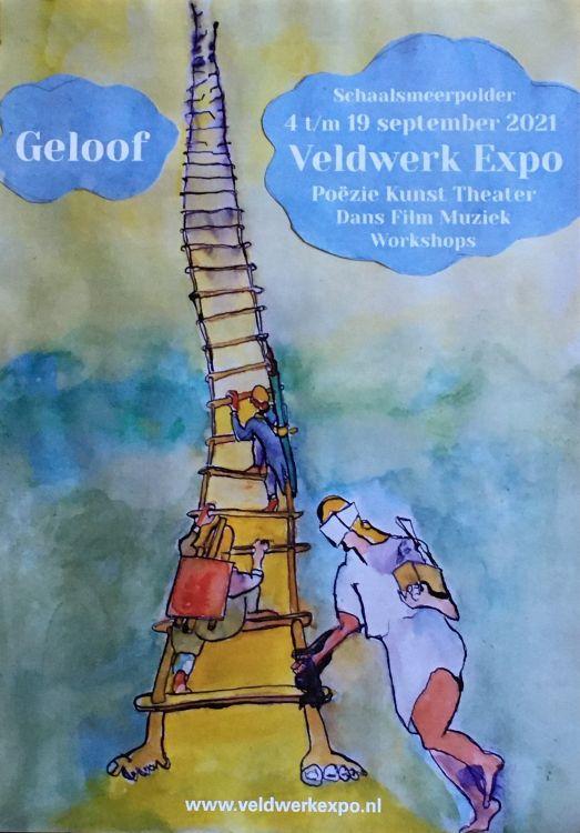 """Afbeelding poster expo """"Geloof"""""""