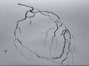 """Afbeelding van het kunstwerk """"Rond het hart 1"""""""