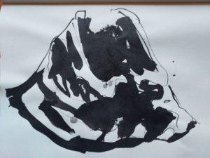 """Afbeelding van het kunstwerk """"Rond het hart 2"""""""