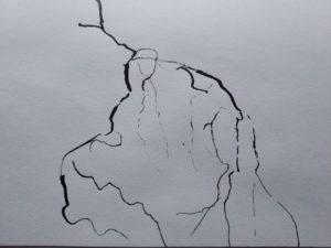 """Afbeelding van het kunstwerk """"Rond het hart 4"""""""