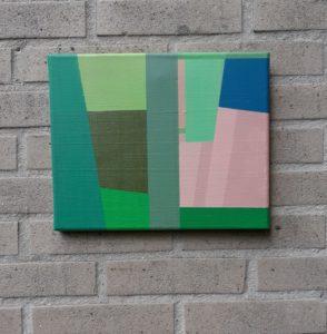"""Afbeelding van het kunstwerk """"Compositie 021"""""""