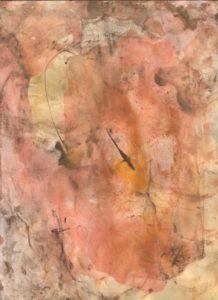 """Afbeelding van het kunstwerk """"Geel 1"""""""