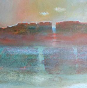 """Afbeelding van het kunstwerk """"Landschap 2"""""""