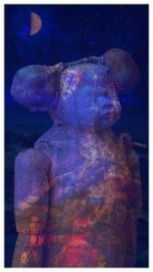 """Afbeelding van het kunstwerk """"Bewerkte assemblage 2"""""""