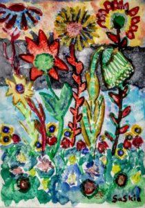 """Afbeelding van het kunstwerk """"Bloemen"""""""