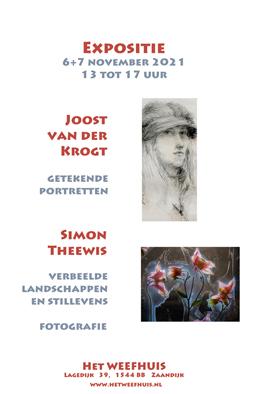 """Afbeelding poster expo """"Getekende portretten"""""""