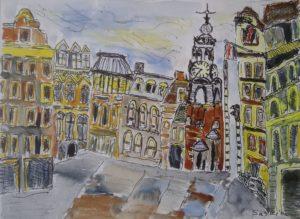 """Afbeelding van het kunstwerk """"Munt Amsterdam """""""