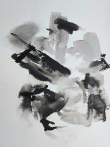 """Afbeelding van het kunstwerk """"serie Rond het hart 2"""""""