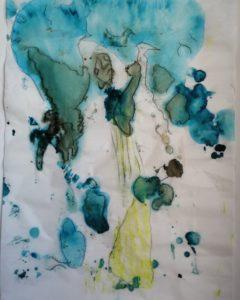 """Afbeelding van het kunstwerk """"Thoughts and prayers """""""