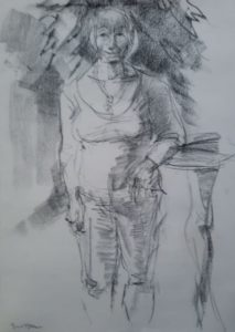"Afbeelding van het kunstwerk ""Tonnie Haarsma, tuinpark Buitenzorg """