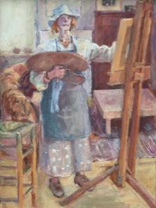 """Afbeelding van het kunstwerk """"Vera in oktober"""""""